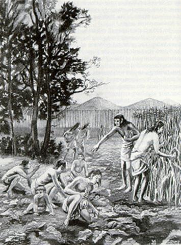 Paleos arrive in Vermont (9300 BCE)