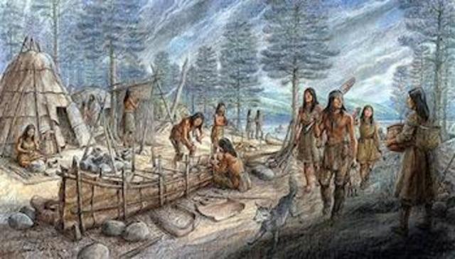 Woodland Abenaki culture begins