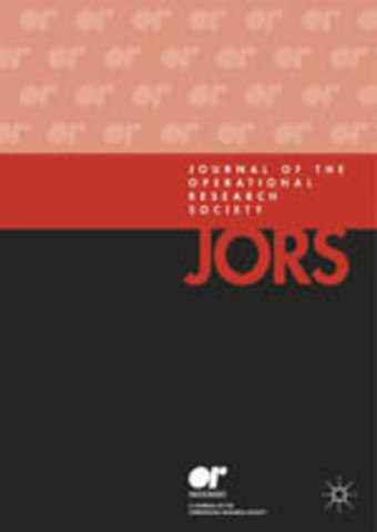 Journal of the Operations Research Society of America