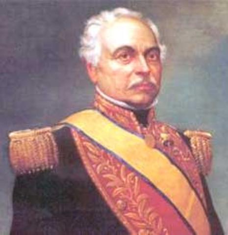 "Venezuela leaves ""Gran Colombia"""