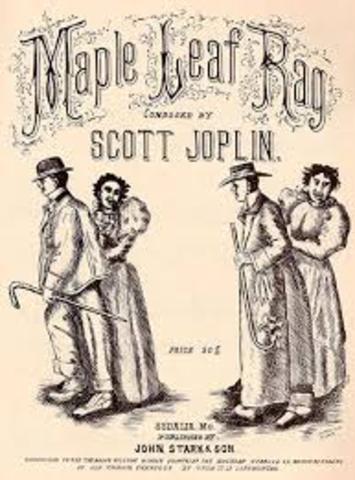 Scott Joplin records piano roll Maple Leaf Rag