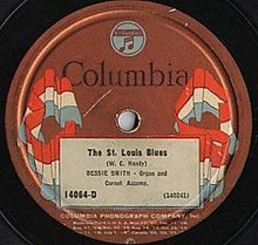 Bessie Smith records St. Louis Blues