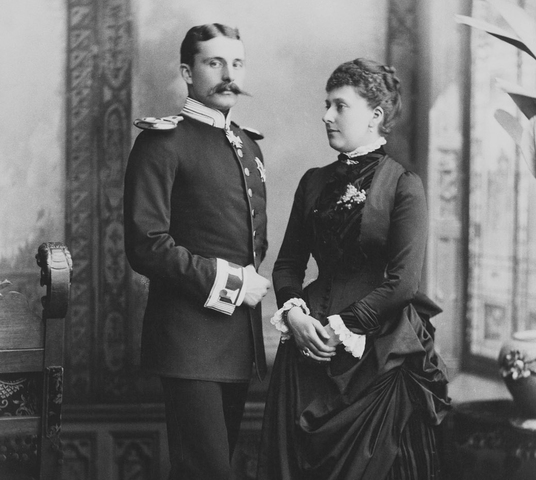 Engagement of Princess Beatrice to Liko - Prince Henry of Battenberg