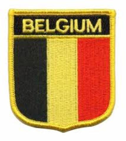 ¡En Bélgica!