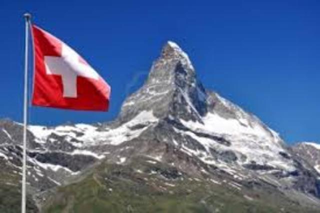 ¡En Suiza!