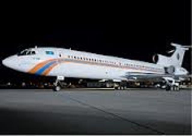 Hemus Air Tu-154 : 150 passengers