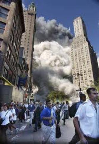 World trade centre collapsed 2,996  killed, 6000 injured