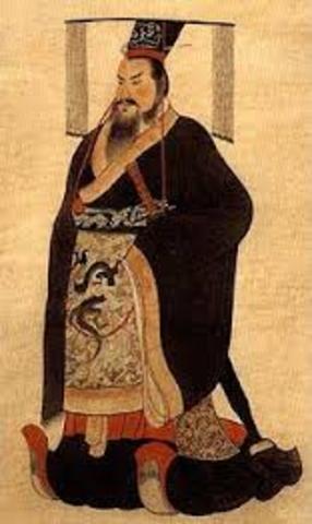Qin Shi Huangdi becomes emporor