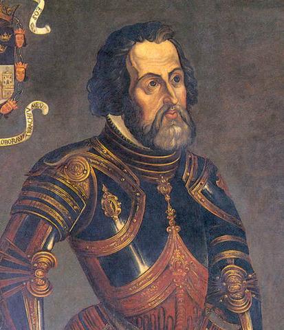 Hernán Cortés inicia su expedición