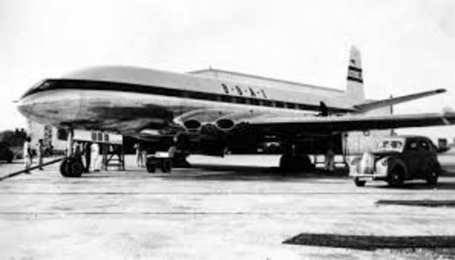 First Passenger Jet Airplane