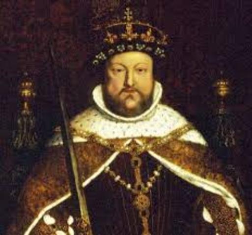 Enrique VIII se opuso a la reforma de la iglesia de inglaterra