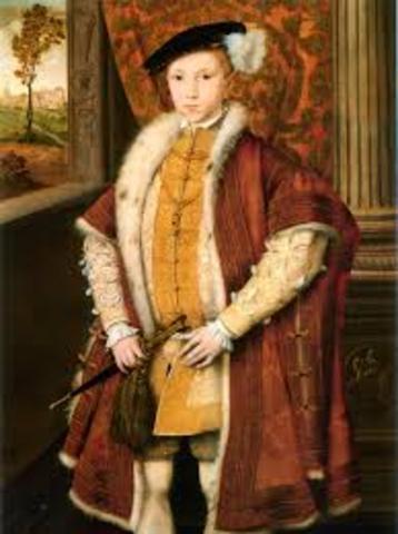 Eduardo VI muere