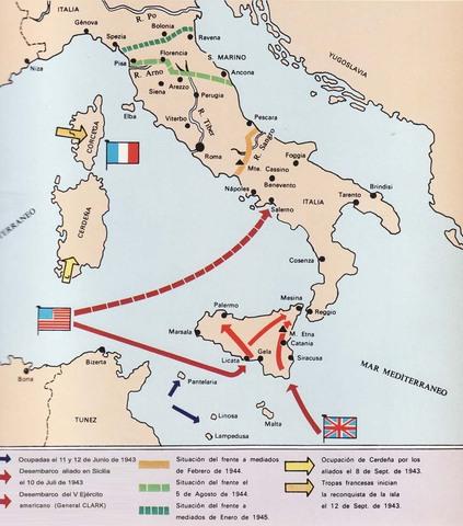 Desembarco aliado en Sicilia