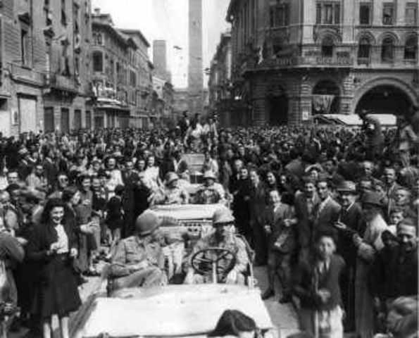 Entrada de los Aliados en Roma