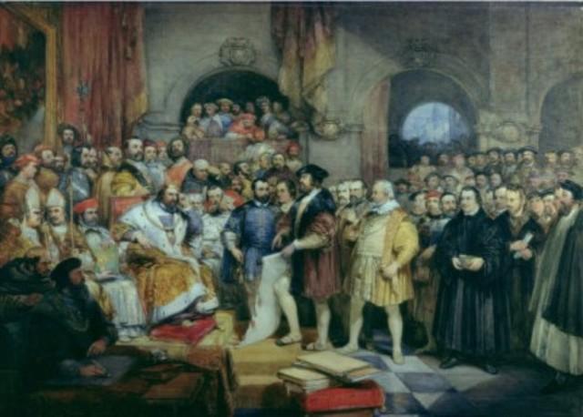 Protesta de Espira, presentada por los príncipes cristianos alemanes
