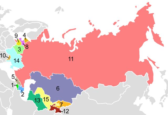 Sovjetunionen blir dannet