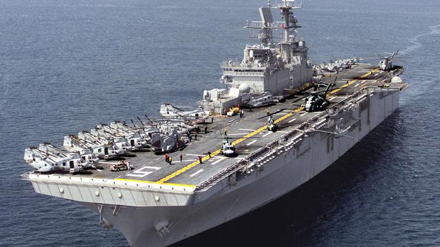 Amerikanske krigskip omringer Cuba