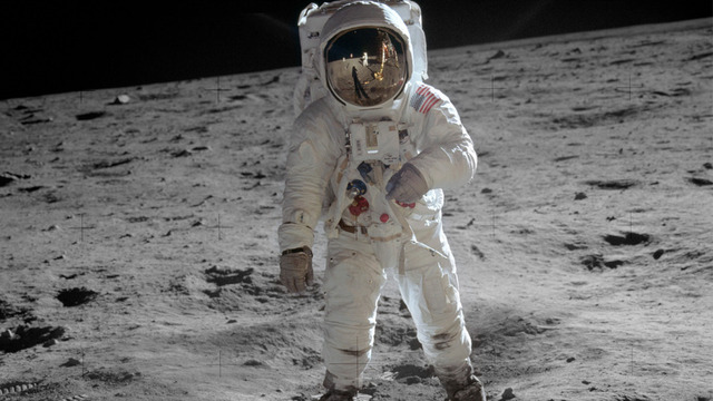 USA lander på månen