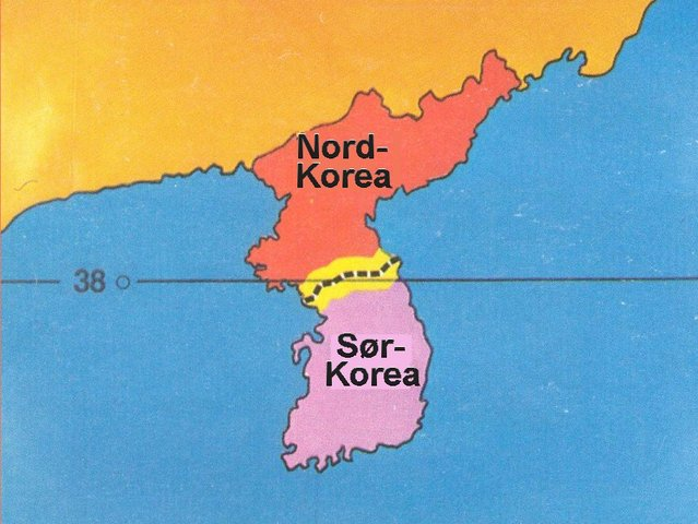Koreakrigen starter