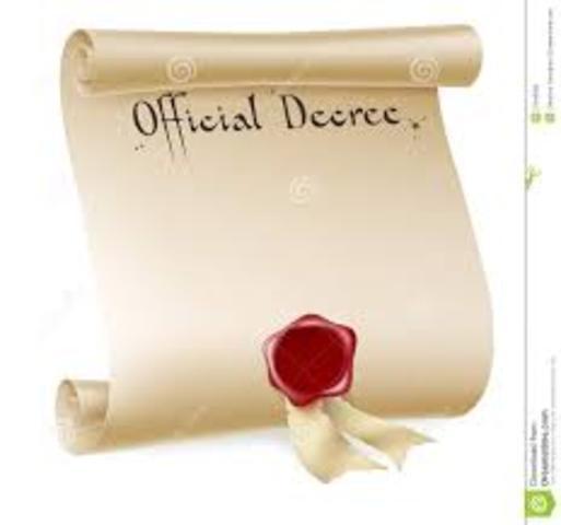 Jewish Decree