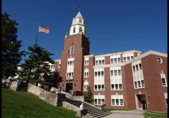 Starting at a university