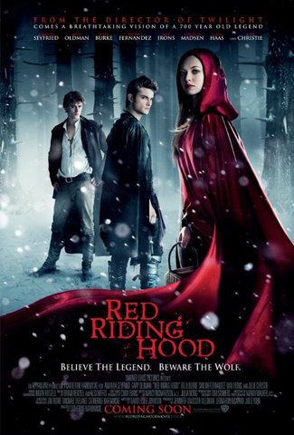 """Red Riding Hood"" starring Amanda Seyfried"