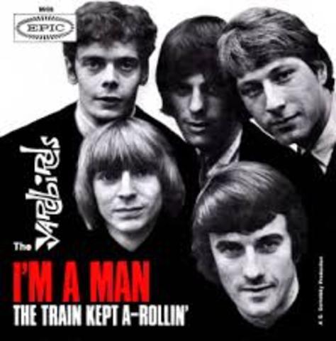 "Yardbirds record ""Train Kep a Rollin"""