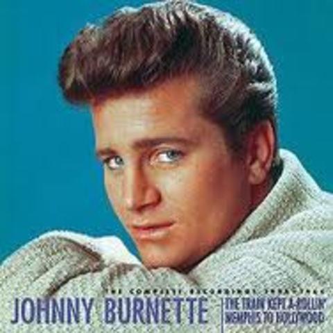 "Johnny Burnette records Train Kept a Rollin"""