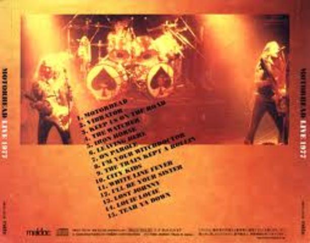 """Motorhead records """"Train Kept a Rollin"""""""