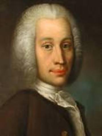 Anders Celsius creates his scale for measuring temperature