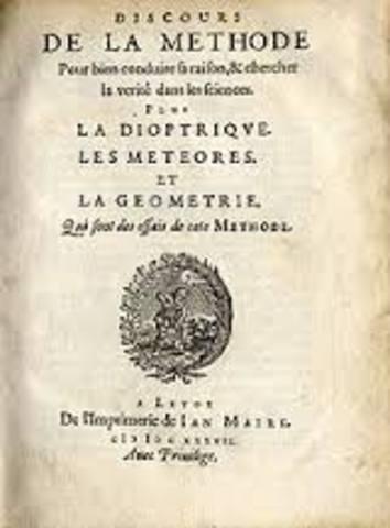 Rene Descartes lays out his scientific method in Discourse on Method