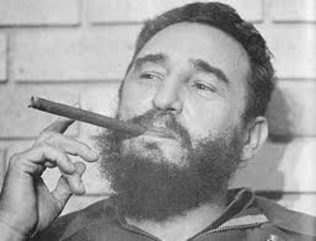 Fidel Castro takes over Cuba
