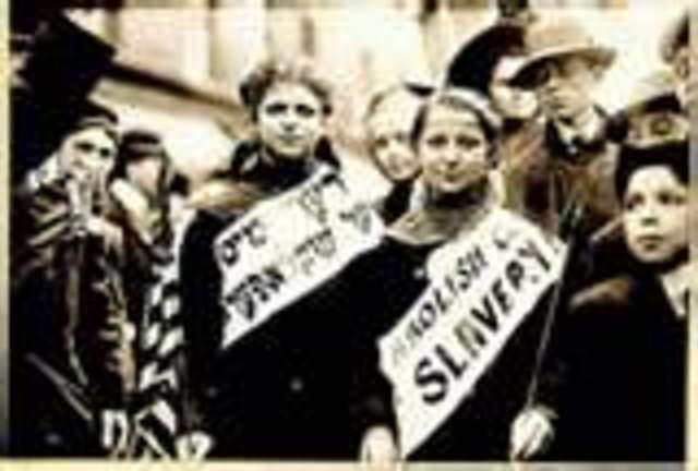 Congress abolishes slavery