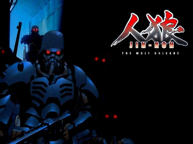 """Japanese animated film """"Jin-Roh"""""""
