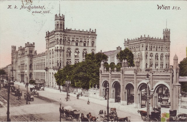 Hitler moves to Vienna