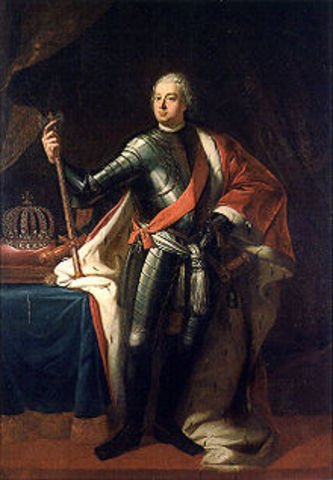 Frederick the Great beings his reign in Prussia