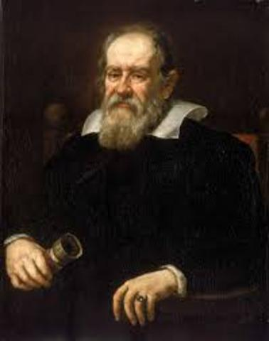 """Galileo publishes his many findings in """"Dialogue Concerning the Two Chief World Systems"""""""