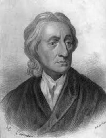 "John Locke justifies rebellion in ""Two Treatises on Government"""