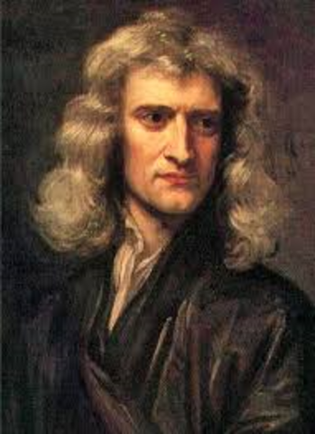 Issac Newton published his laws of gravity in Mathematical Principles of Natural Philopshy