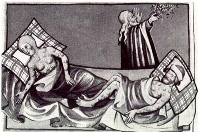 Where the Black Death began