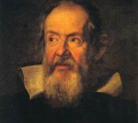 """Galileo publishes his many findings in """"Dialogue Concerning the Two Chief World Systems"""