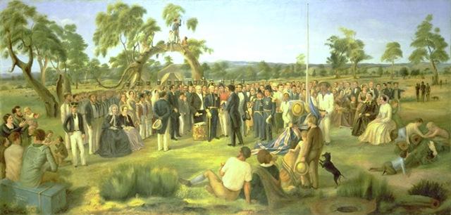 British Colony on Australia Settled