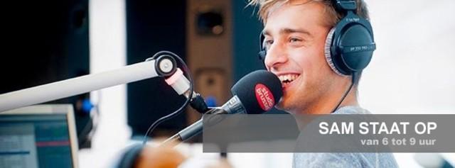 Start radioprogramma 'Tomas staat op'