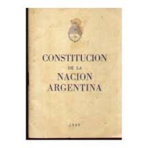 Sanción de la constitución