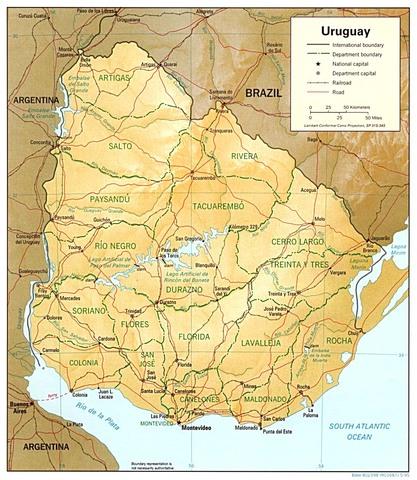 Uruguay declares independence