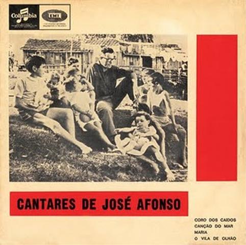 Disco: CANTARES DE JOSÉ AFONSO - 1ª edição censurada