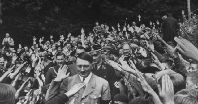 Hitler gets sworn in as Chancellor