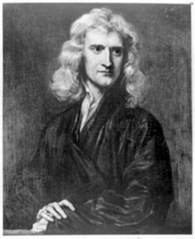 Isaac Newton published his laws of gracity in Mathematical Principles of Natural Philosophy