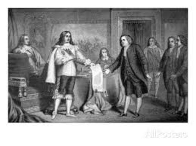 William Penn receives charter for Pennsylvania