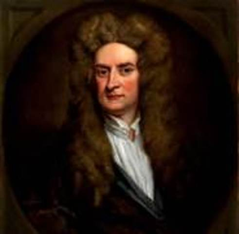 Isaac Newton publishes his laws of gravity in Mathematical Principles of Natural Philosophy